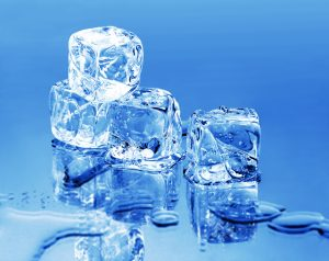 Melting Ice Cubes - keep cool this summer