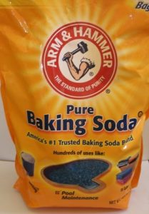 Bag of baking soda