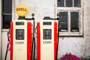 Vinatage Gas Pumps
