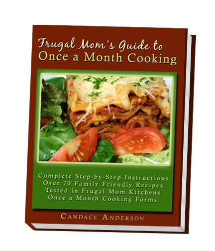 Frugal Mom cookbook